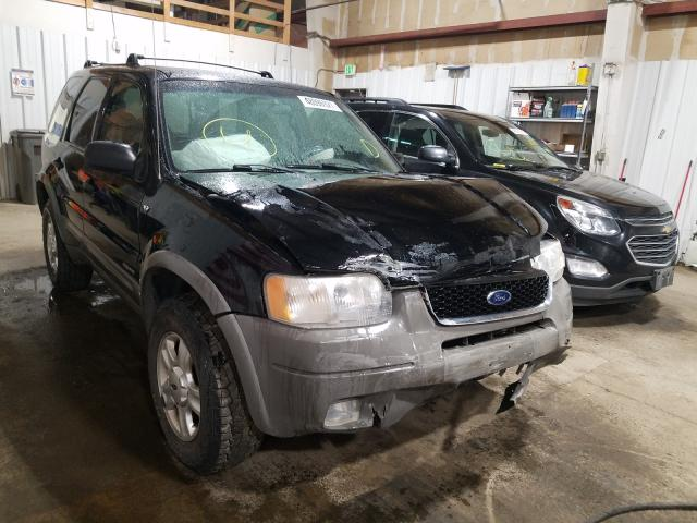 Salvage cars for sale from Copart Anchorage, AK: 2001 Ford Escape XLT