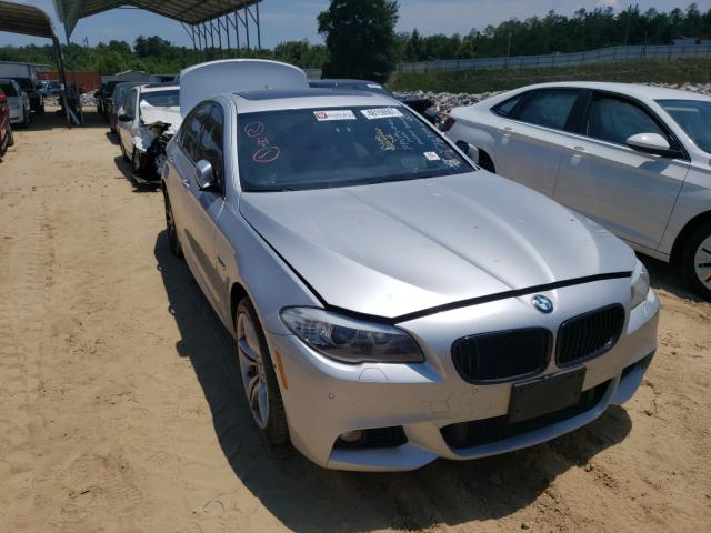 Salvage cars for sale from Copart Gaston, SC: 2013 BMW 550 XI