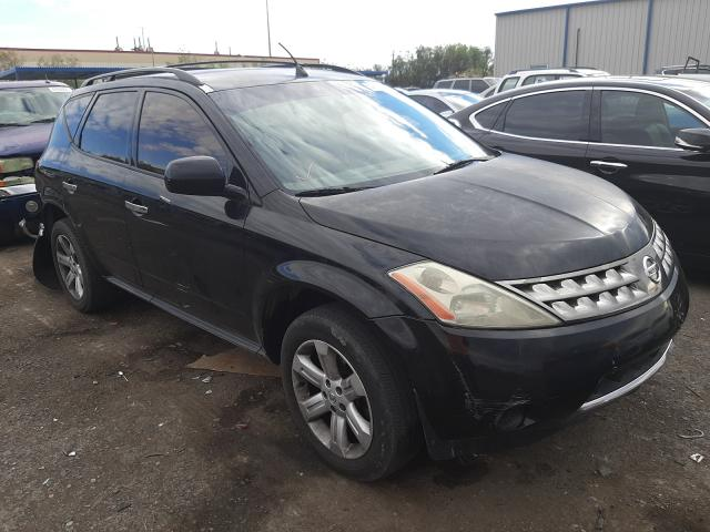 Salvage cars for sale from Copart Las Vegas, NV: 2006 Nissan Murano SL