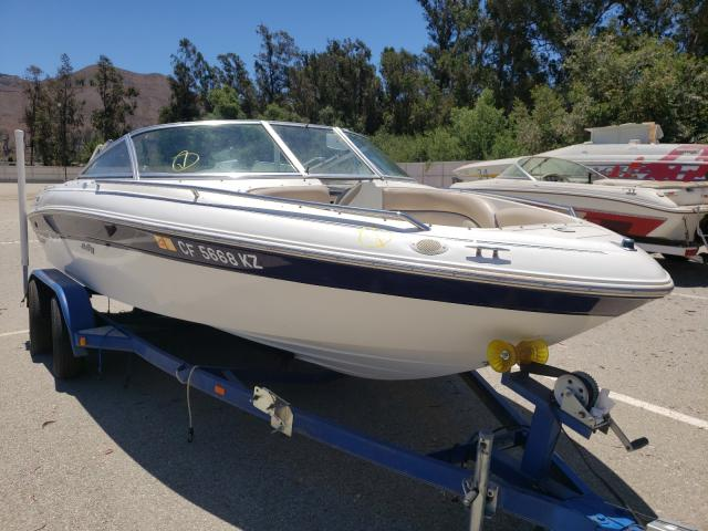 Salvage cars for sale from Copart Van Nuys, CA: 1998 Seadoo Boat With Trailer