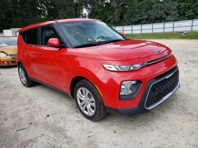 Salvage cars for sale from Copart Ocala, FL: 2020 KIA Soul LX