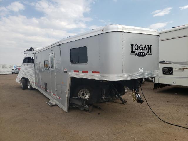 Logan salvage cars for sale: 2020 Logan Horse Trailer