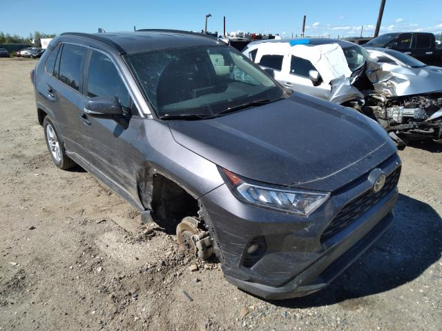 Salvage cars for sale from Copart Anchorage, AK: 2021 Toyota Rav4 XLE