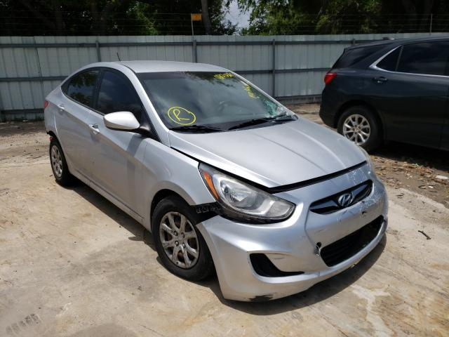 Salvage cars for sale from Copart Corpus Christi, TX: 2013 Hyundai Accent GLS