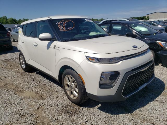 KIA salvage cars for sale: 2020 KIA Soul LX