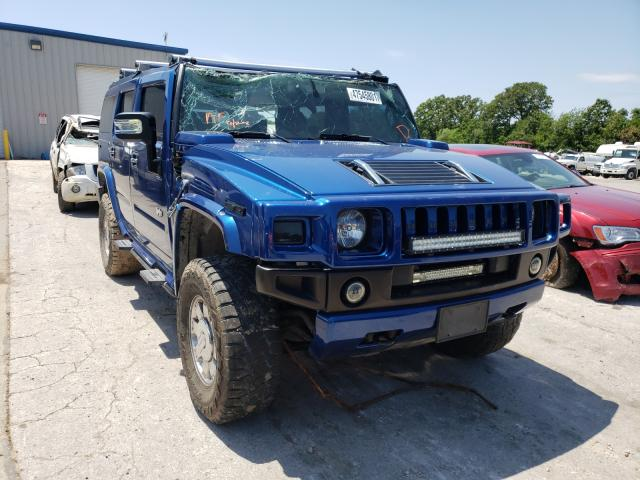 Salvage cars for sale from Copart Rogersville, MO: 2006 Hummer H2