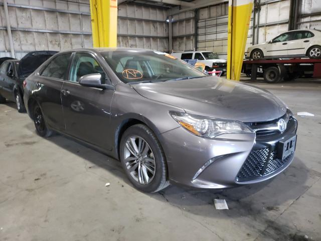 Salvage cars for sale from Copart Woodburn, OR: 2017 Toyota Camry LE