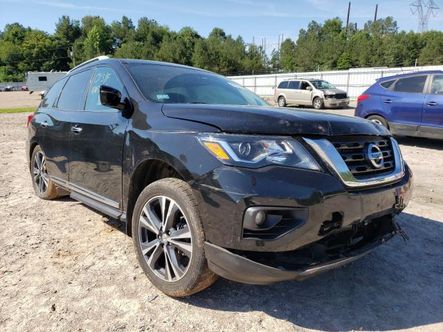 Salvage cars for sale from Copart Charles City, VA: 2017 Nissan Pathfinder