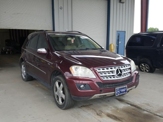 Salvage cars for sale from Copart Billings, MT: 2009 Mercedes-Benz ML