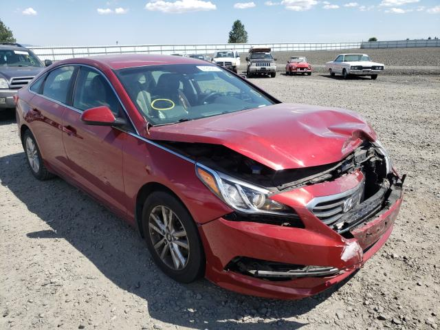 Salvage cars for sale from Copart Airway Heights, WA: 2015 Hyundai Sonata SE