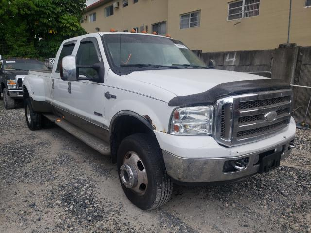 Salvage cars for sale from Copart Opa Locka, FL: 2006 Ford F350 Super