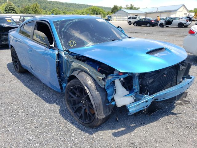 Salvage cars for sale from Copart Grantville, PA: 2019 Dodge Charger SC