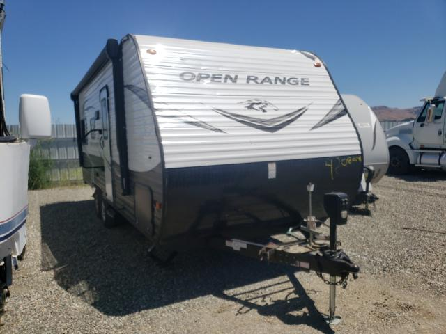 Camp salvage cars for sale: 2019 Camp Open Range