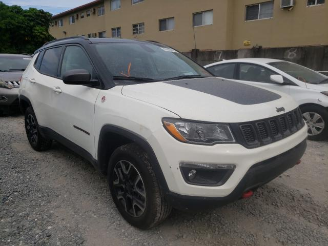 Salvage cars for sale from Copart Opa Locka, FL: 2019 Jeep Compass TR