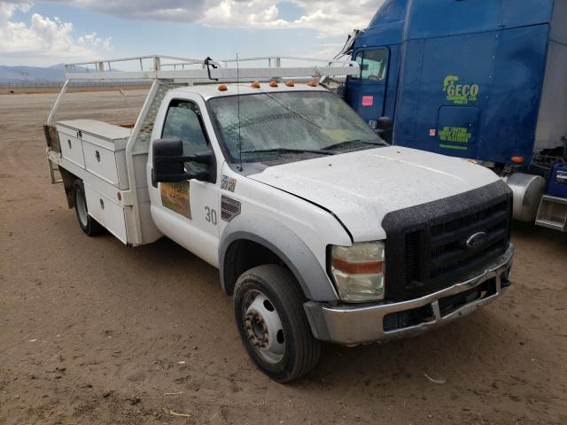Salvage cars for sale from Copart Adelanto, CA: 2008 Ford F450 Super
