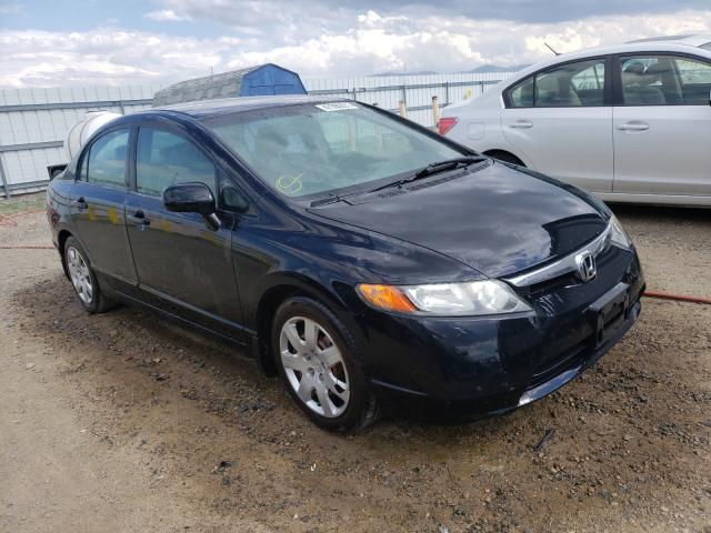 Salvage cars for sale from Copart Helena, MT: 2007 Honda Civic LX