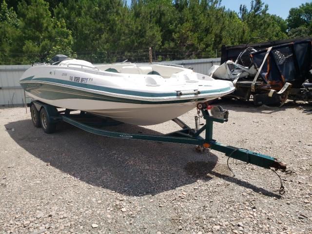 Salvage boats for sale at Charles City, VA auction: 2005 Tahoe Boat With Trailer