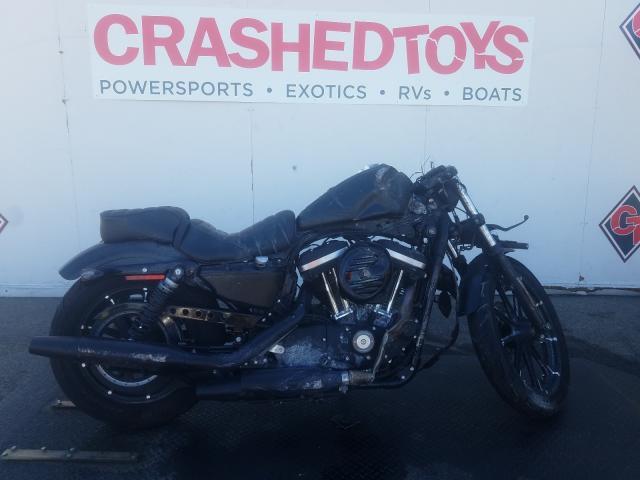 Vehiculos salvage en venta de Copart Van Nuys, CA: 2020 Harley-Davidson XL883 N