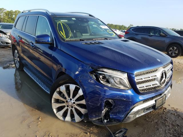 Salvage cars for sale from Copart Houston, TX: 2017 Mercedes-Benz GLS 450 4M
