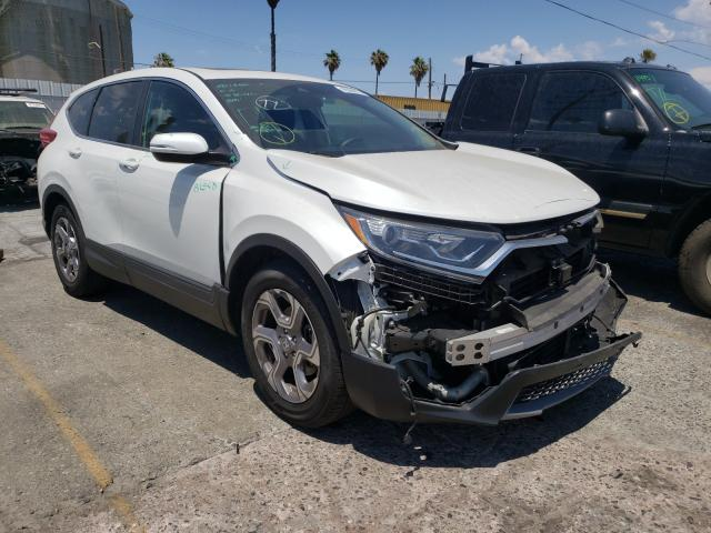 Salvage cars for sale from Copart Wilmington, CA: 2019 Honda CR-V EX
