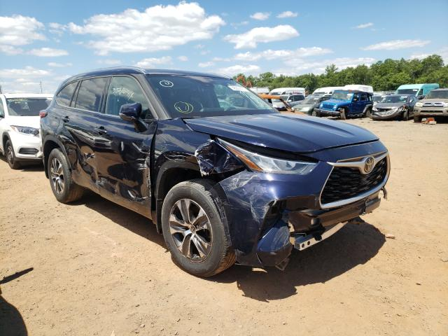 Salvage cars for sale from Copart Hillsborough, NJ: 2020 Toyota Highlander