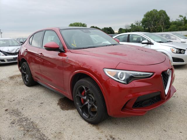 Alfa Romeo salvage cars for sale: 2018 Alfa Romeo Stelvio QU
