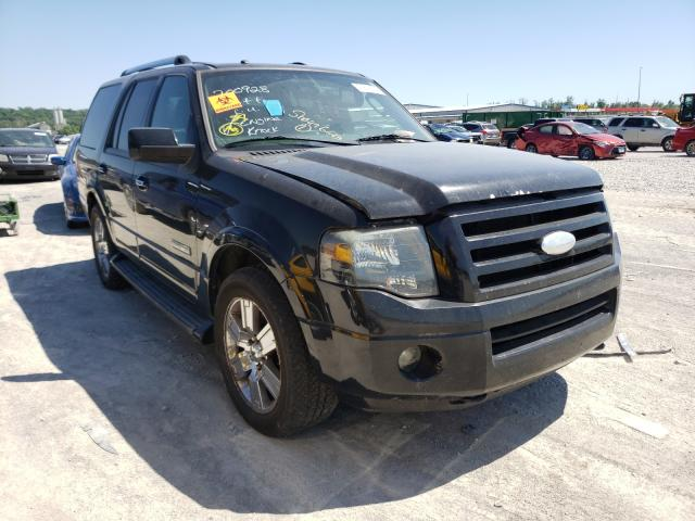 Salvage cars for sale at Alorton, IL auction: 2007 Ford Expedition