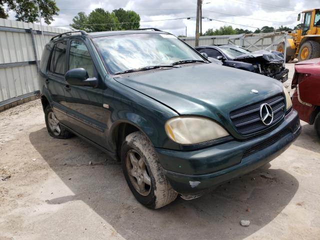 Salvage cars for sale at Montgomery, AL auction: 2000 Mercedes-Benz ML 320