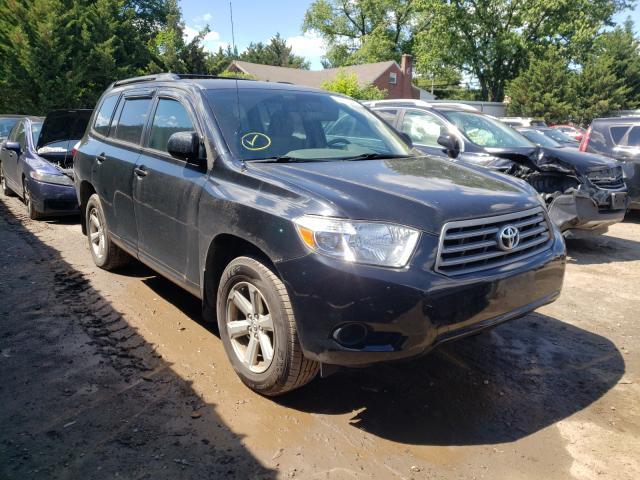 Vehiculos salvage en venta de Copart Finksburg, MD: 2010 Toyota Highlander