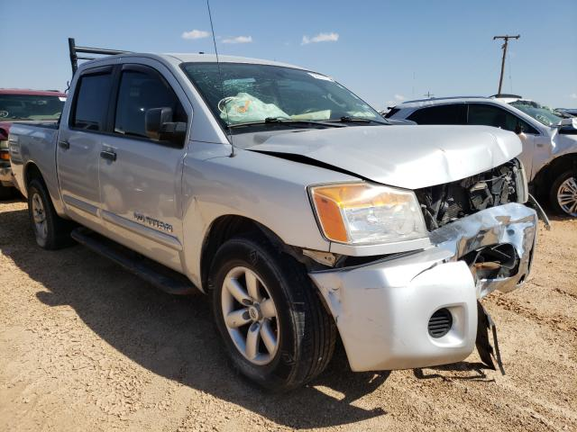 Salvage cars for sale from Copart Andrews, TX: 2012 Nissan Titan S