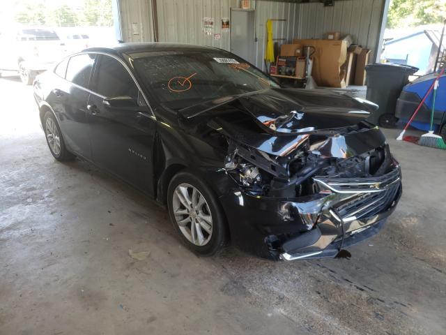 Salvage cars for sale from Copart Shreveport, LA: 2017 Chevrolet Malibu LT