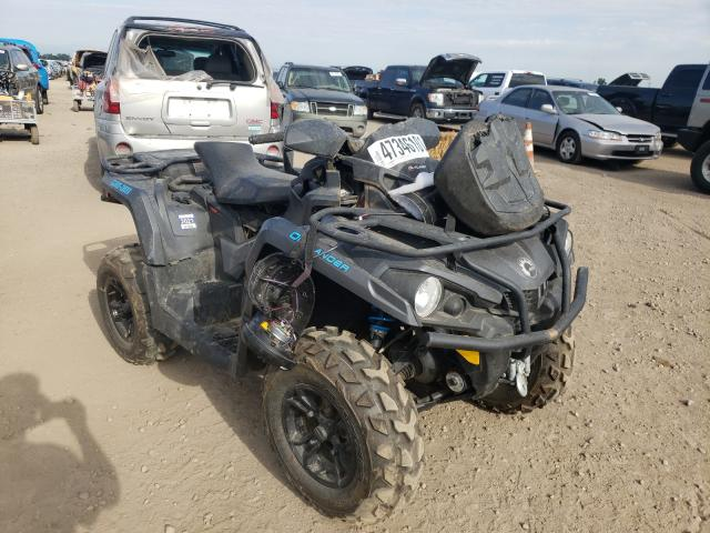 Salvage cars for sale from Copart Brighton, CO: 2020 Can-Am Outlander