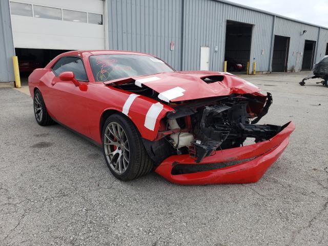 Vehiculos salvage en venta de Copart Dyer, IN: 2016 Dodge Challenger