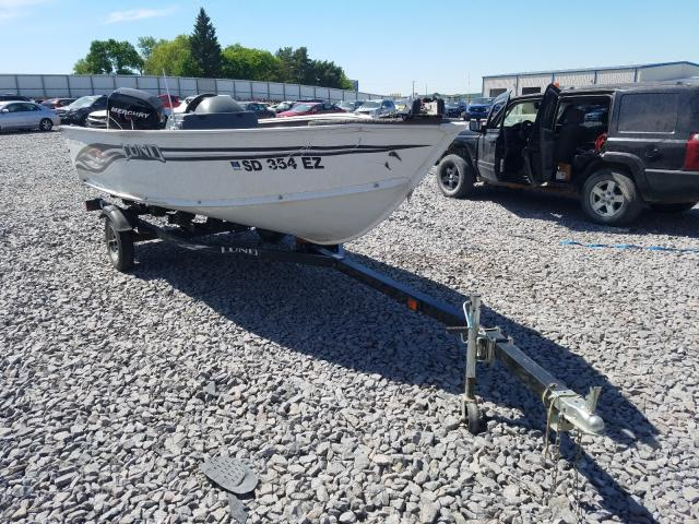 Salvage cars for sale from Copart Avon, MN: 2007 Lund Boat With Trailer
