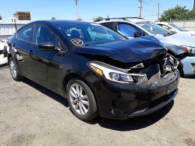 Vehiculos salvage en venta de Copart Fresno, CA: 2017 KIA Forte LX