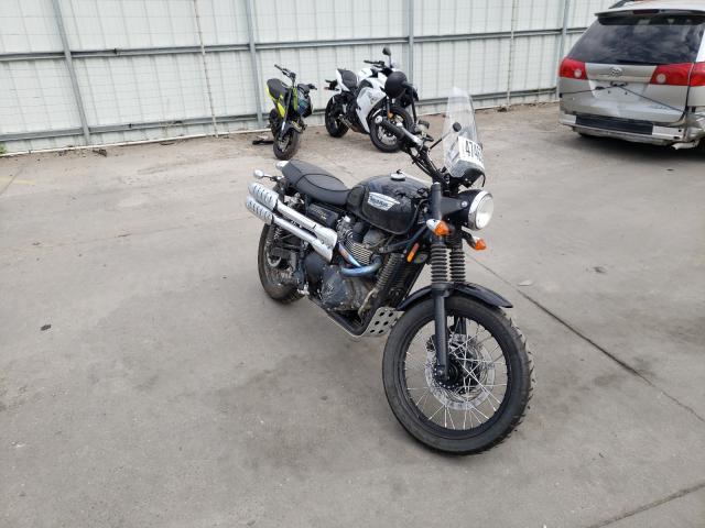 Salvage 2016 TRIUMPH MOTORCYCLE SCRAMBLER - Small image. Lot 47463841