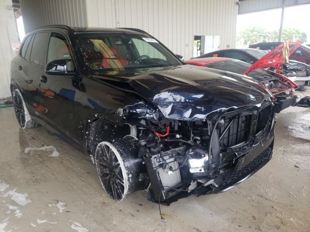 BMW Vehiculos salvage en venta: 2021 BMW X5 M