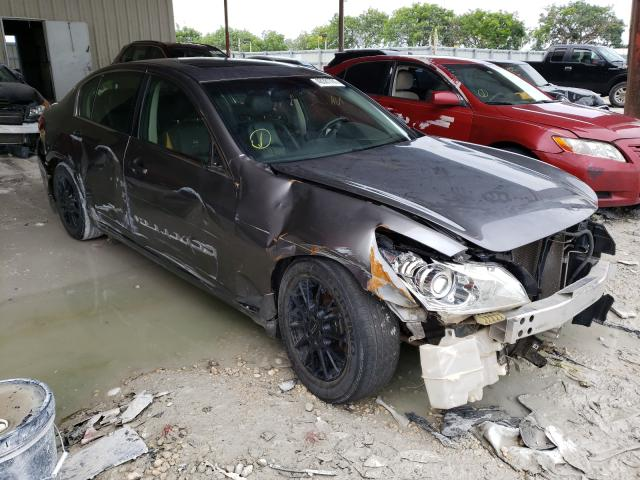 Salvage cars for sale from Copart Homestead, FL: 2013 Infiniti G37 Base
