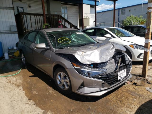 Salvage cars for sale from Copart Pennsburg, PA: 2021 Hyundai Elantra SE