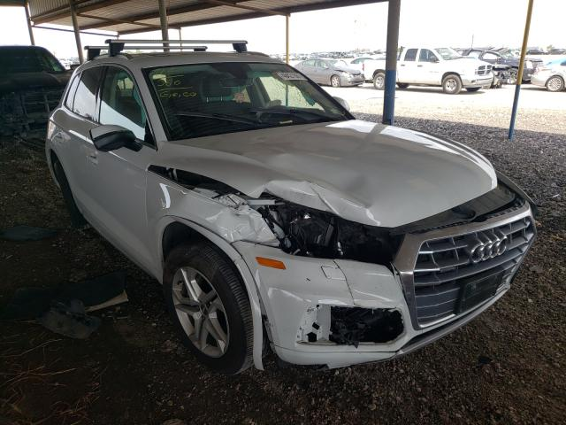 Salvage cars for sale from Copart Houston, TX: 2019 Audi Q5 Premium