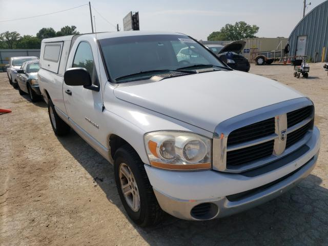 Salvage cars for sale from Copart Wichita, KS: 2006 Dodge RAM 1500 S