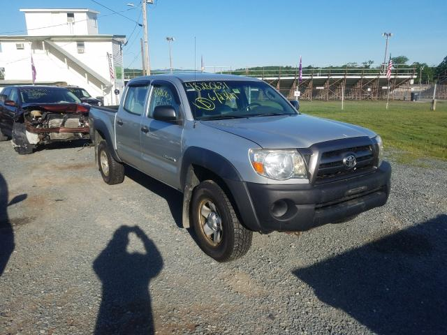 Salvage cars for sale from Copart West Warren, MA: 2009 Toyota Tacoma DOU