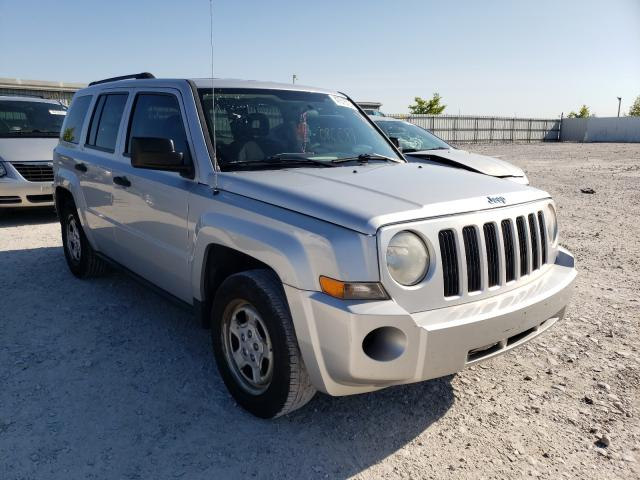 Salvage cars for sale from Copart Walton, KY: 2008 Jeep Patriot SP