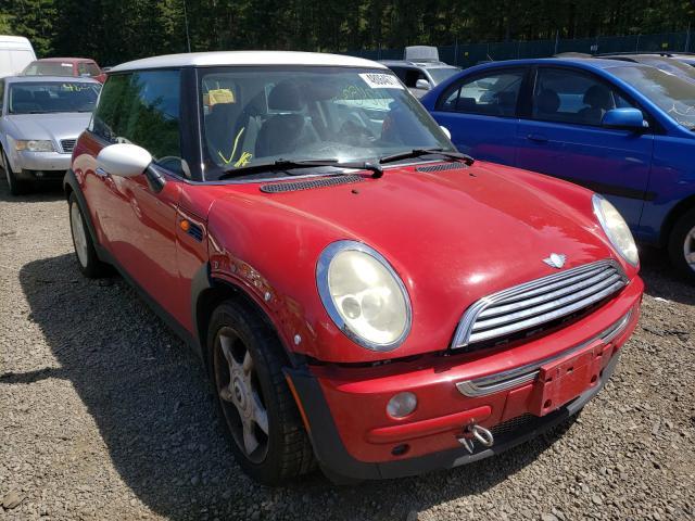 Mini salvage cars for sale: 2003 Mini Cooper
