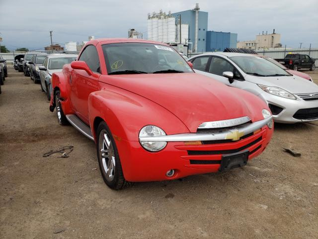 Chevrolet SSR salvage cars for sale: 2005 Chevrolet SSR