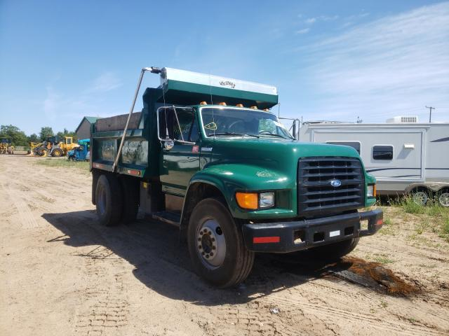 Salvage cars for sale from Copart Kincheloe, MI: 1995 Ford F700