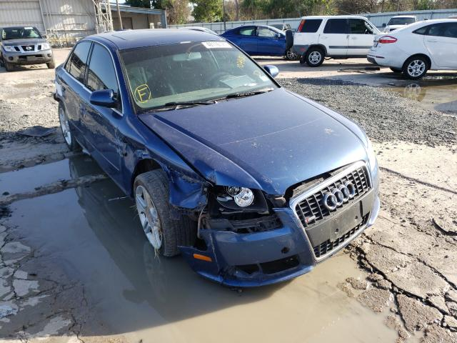 Salvage cars for sale from Copart Corpus Christi, TX: 2008 Audi A4 2.0T