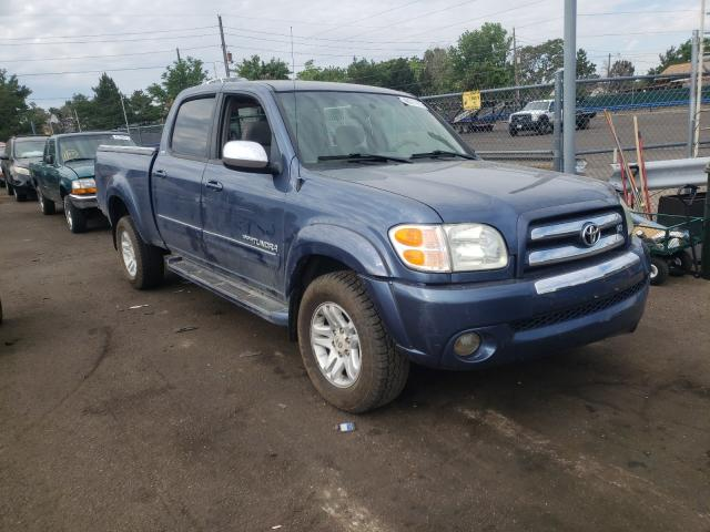 Salvage cars for sale from Copart Denver, CO: 2004 Toyota Tundra DOU
