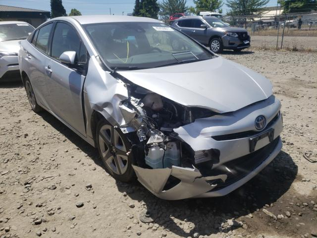 Salvage cars for sale from Copart Eugene, OR: 2016 Toyota Prius