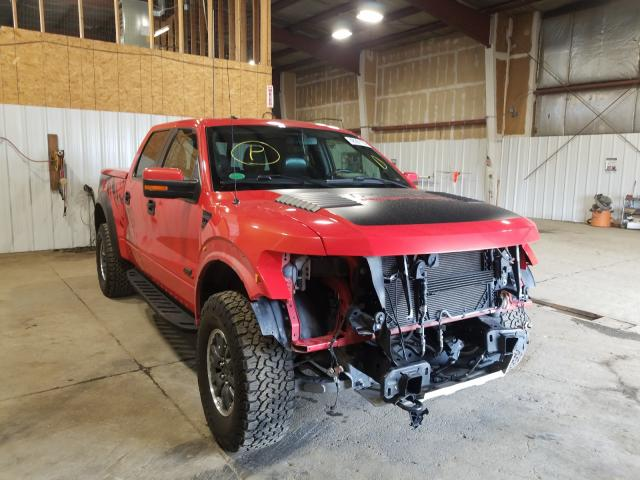Salvage cars for sale from Copart Anchorage, AK: 2011 Ford F150 SVT R
